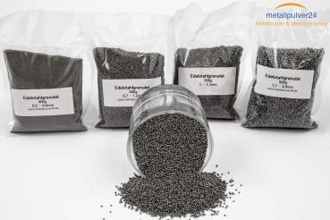 Edelstahlgranulat kantig - 500 g