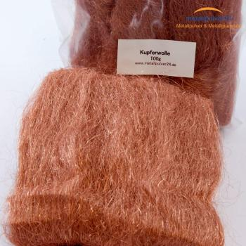 Kupfer-Wolle